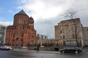 Новая армянская церковь в Москве