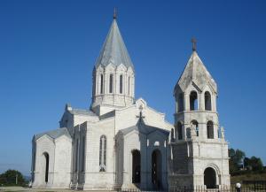 Собор Святого Христа Всеспасителя — Сурб Аменапркич Казанчецоц (Шуши, Арцах, НКР)
