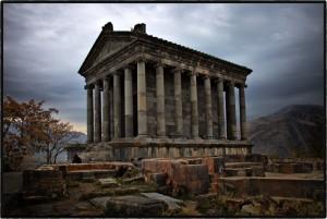Языческий Храм Солнца (1-ый век нашей эры, Армения)