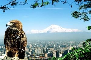 гора Арарат находится на границе АрменияТурция