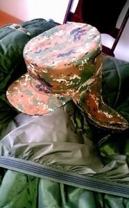 новая зимняя форма для солдат Армении — шапка