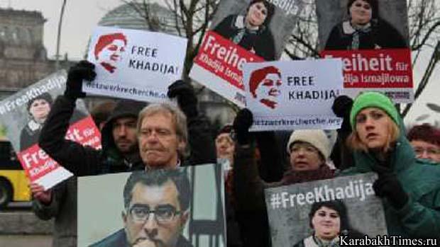 Акция протеста правозащитников