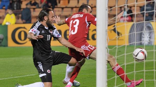 Армения - Албания 0-3