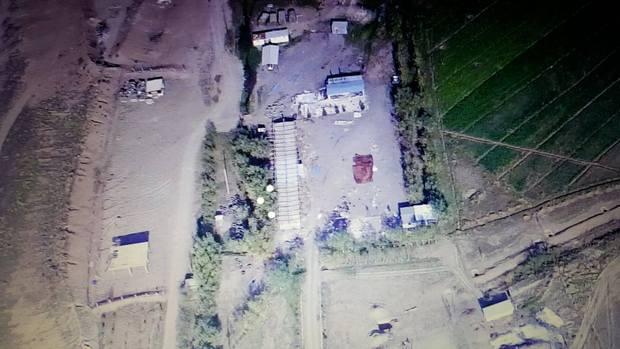 Азербайджанские базы, беспилотник