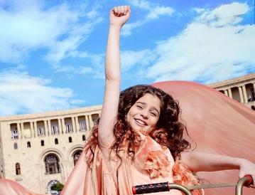 Бетти — участница детского Евровидения из Армении