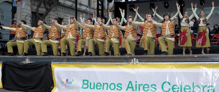 В Буэнос-Айресе состоиться танцевальное шоу, посвященное Армении