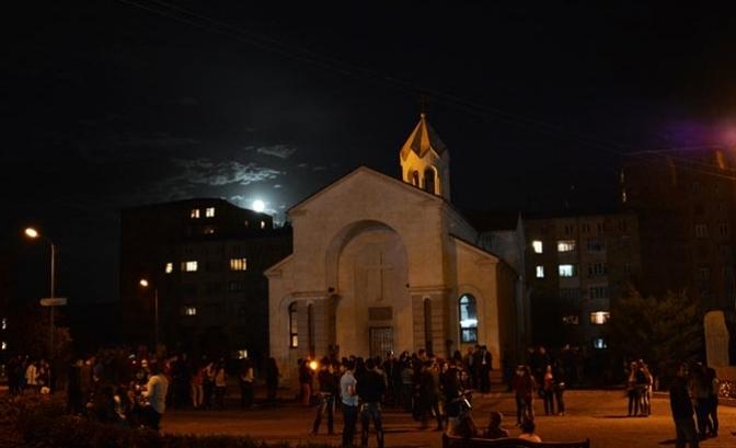 Церковь Святого Акопа в Степанакерте
