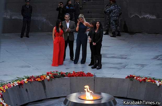 Ким Кардашян в Армении