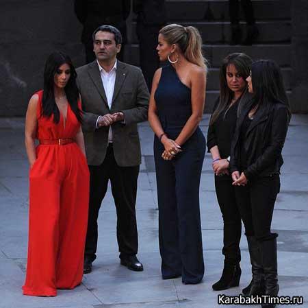Ким Кардашян — мемориал памяти жертв Геноцида