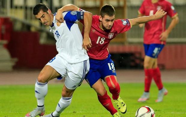 Сербия Армения 2-0