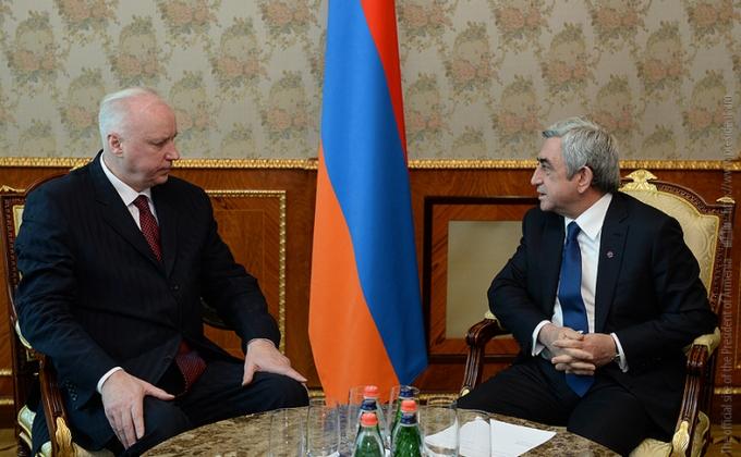 Серж Саргсян и Александр Бастрыкин