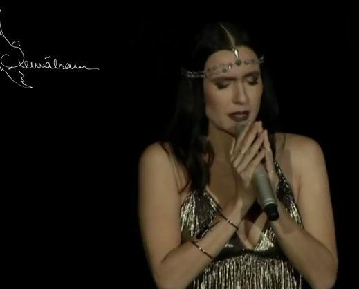 Турецкая певица Шевваль Сам исполнила армянскую пеню «Келе Лао»