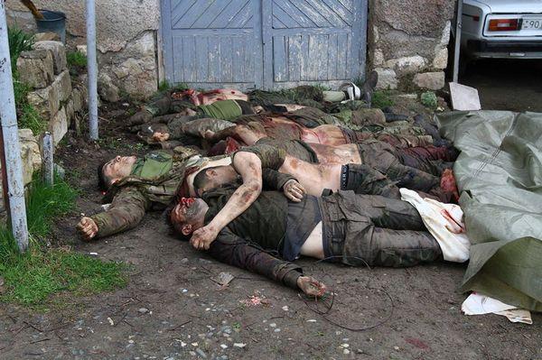 азербайджанские спецназовцы в Карабахе