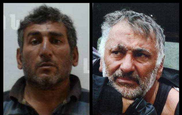 Пойманные азербайджанские диверсанты
