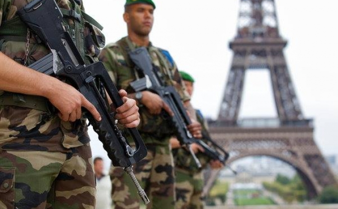 Франция, полицейские