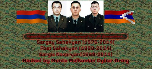 кибератака на азербайджанские сайты