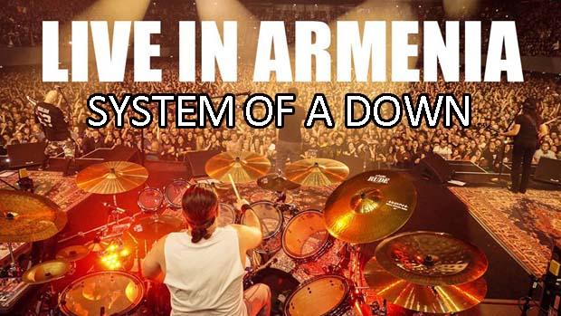Концерт System of a down в Ереване