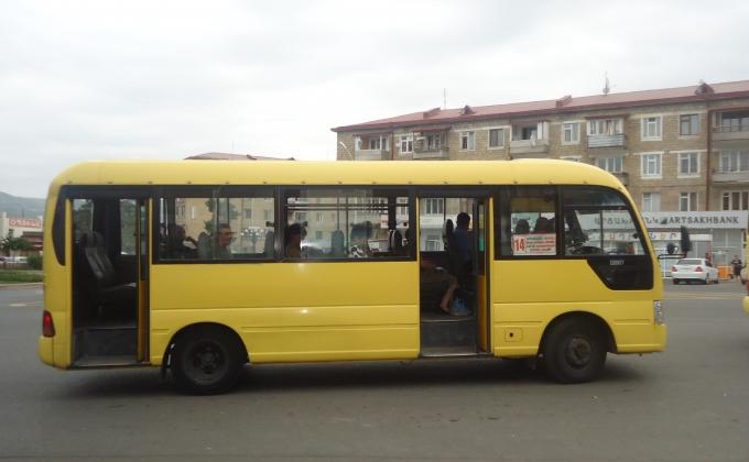 маршрутки Степанакерта