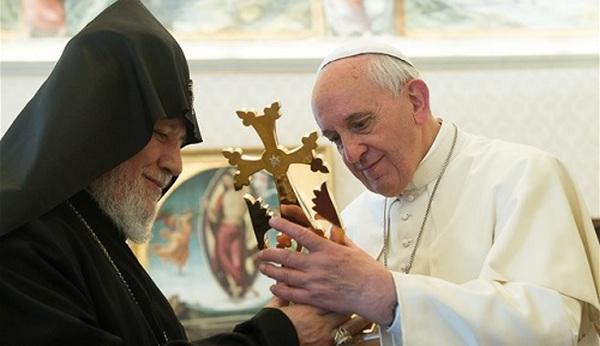 Папа римский в Армении