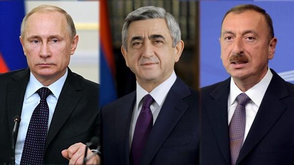 Путин, Серж, Алиев - очередная встреча