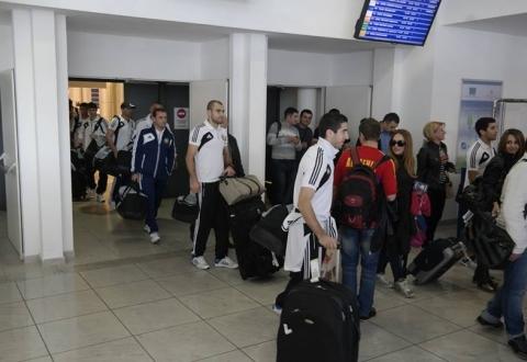Сборная Армении отправилась в Португалию