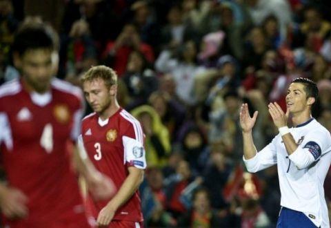 Сборная Португалии против сборной Армении 1-0