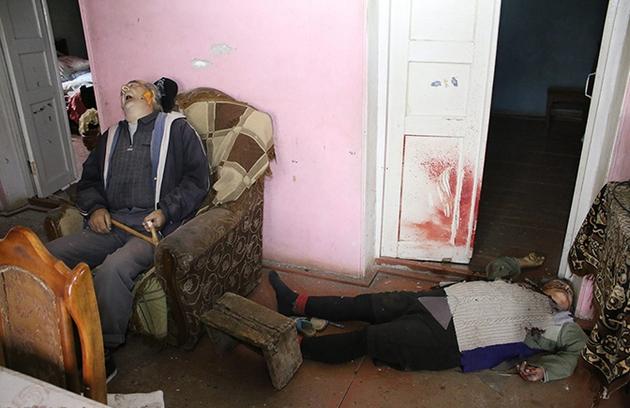 убитые старики в Карабахе