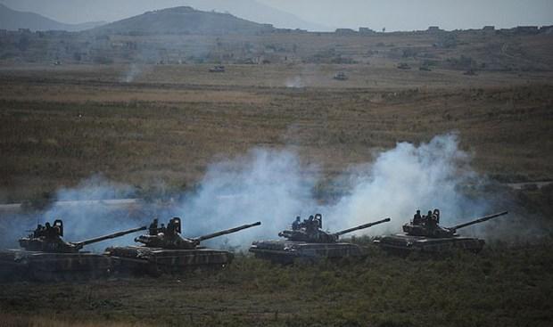 война в карабахе, танки