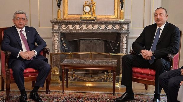 встреча Саргсян-Алиев