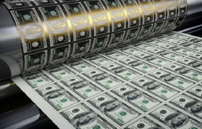Зеленый цвет доллара