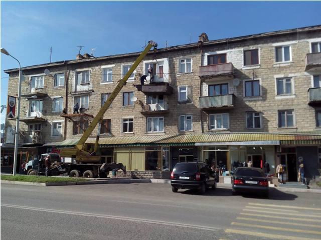 реконстукция здания