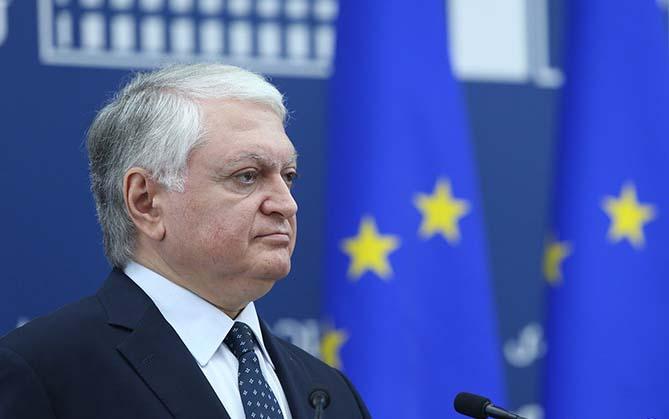 эдвард налбандян -министр иностранных дел Армении