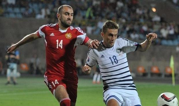 Армения Дания 0-0