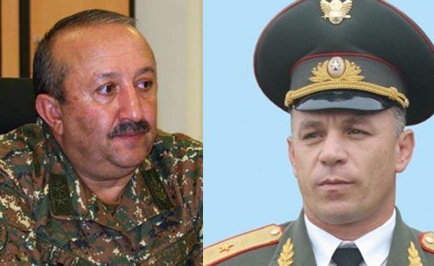 Мовсес Акопян и Лева Мнацаканян