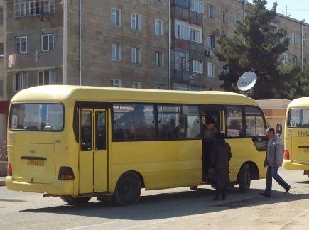 Степанакертские маршрутки