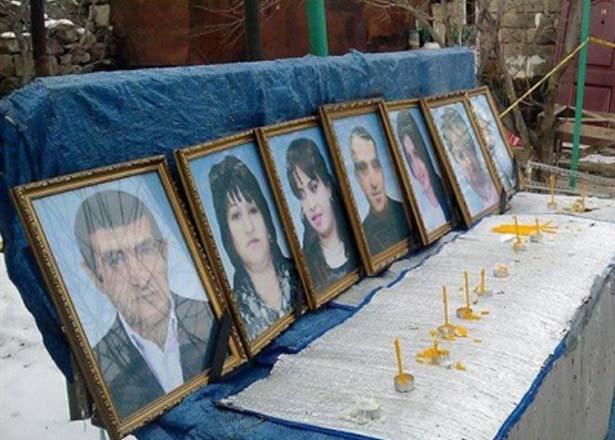 Убитая семья Аветисянов