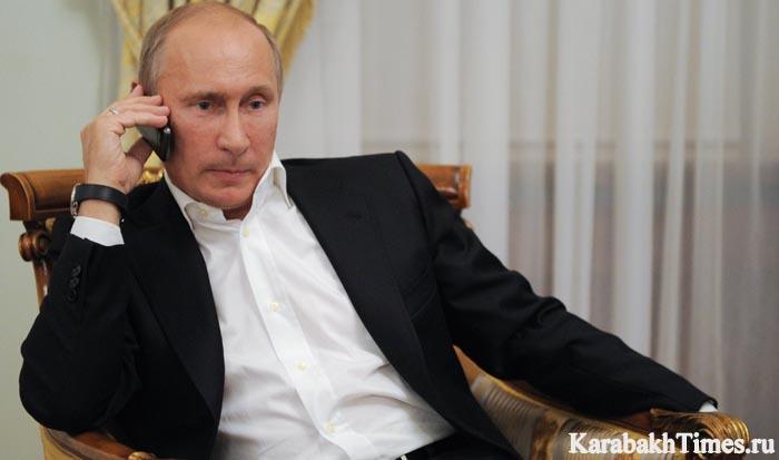 Владимир Путин звонит