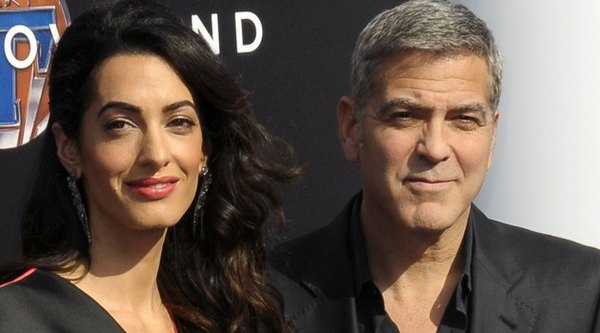 Амаль Клуни и Джордж Клуни в Ереване