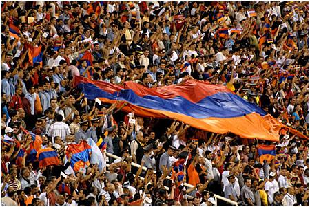 Болельщики сборной Армении
