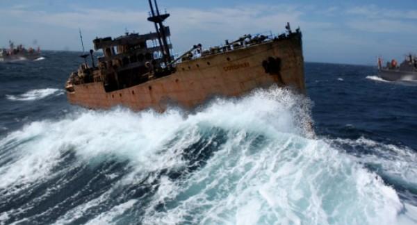 Корабль в Бермудском Треугольнике