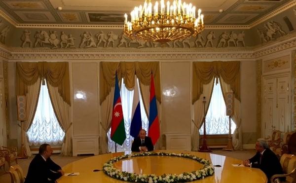 встреча России, Армении и Азебайджана