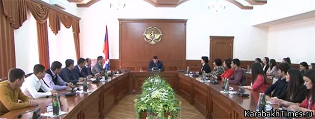 Встреча студентов с премьер-министром